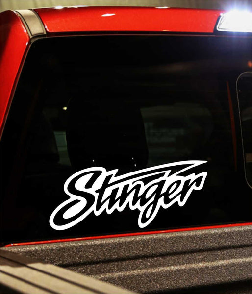 stinger decal - North 49 Decals