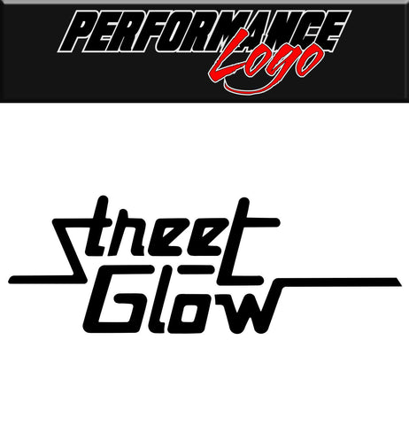 Street Glow decal, performance decal, sticker