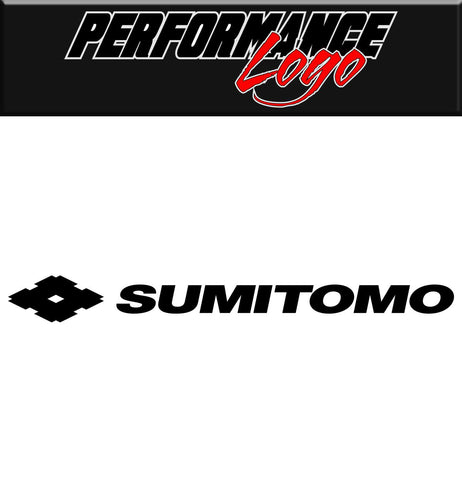 Sumitomo decal, performance decal, sticker