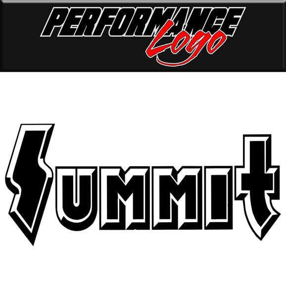 Summit decal, performance decal, sticker