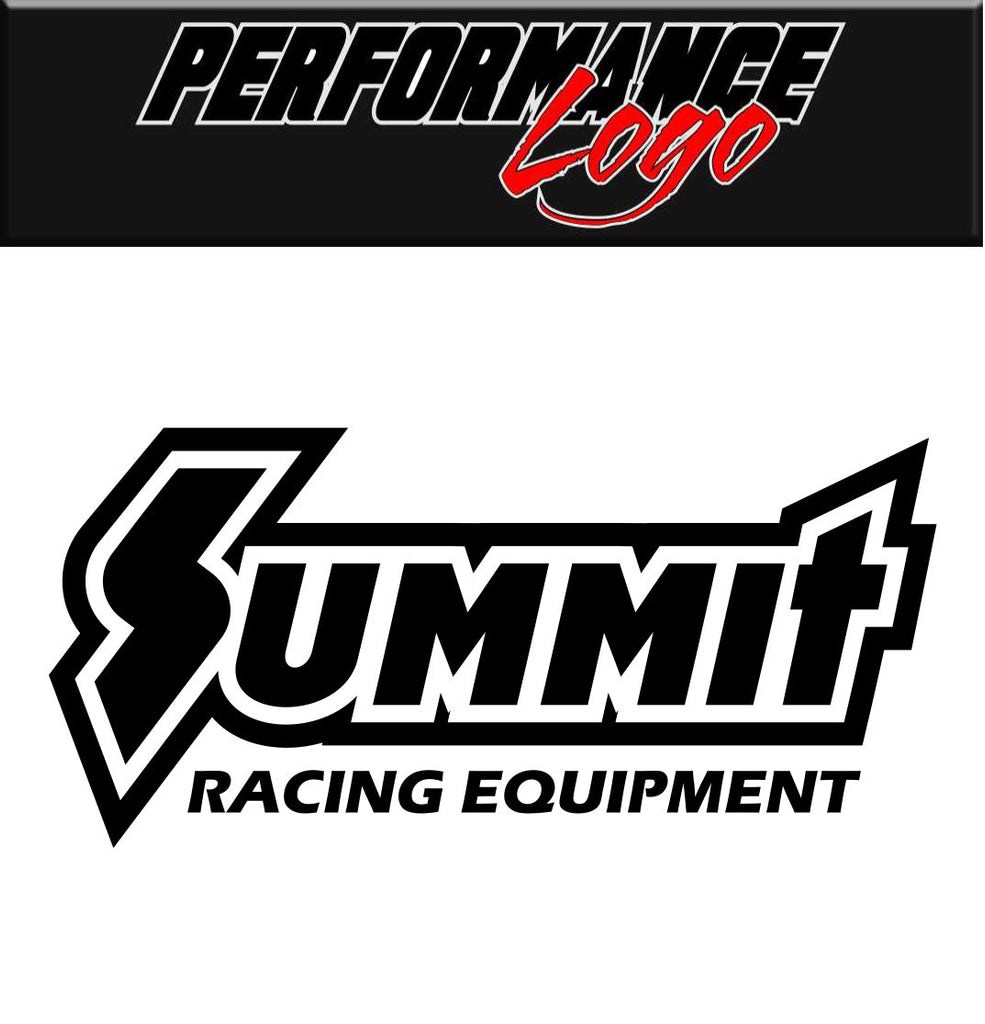Summit Racing Equipment decal, performance decal, sticker
