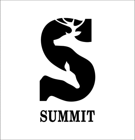 summit stands decal, car decal sticker