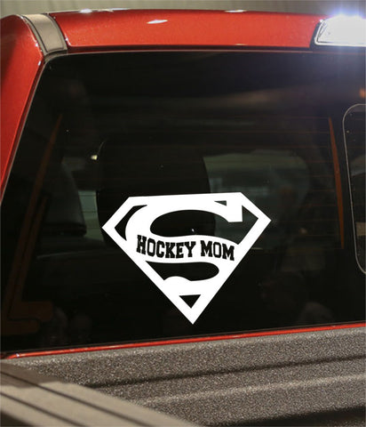 super hockey mom hockey decal - North 49 Decals