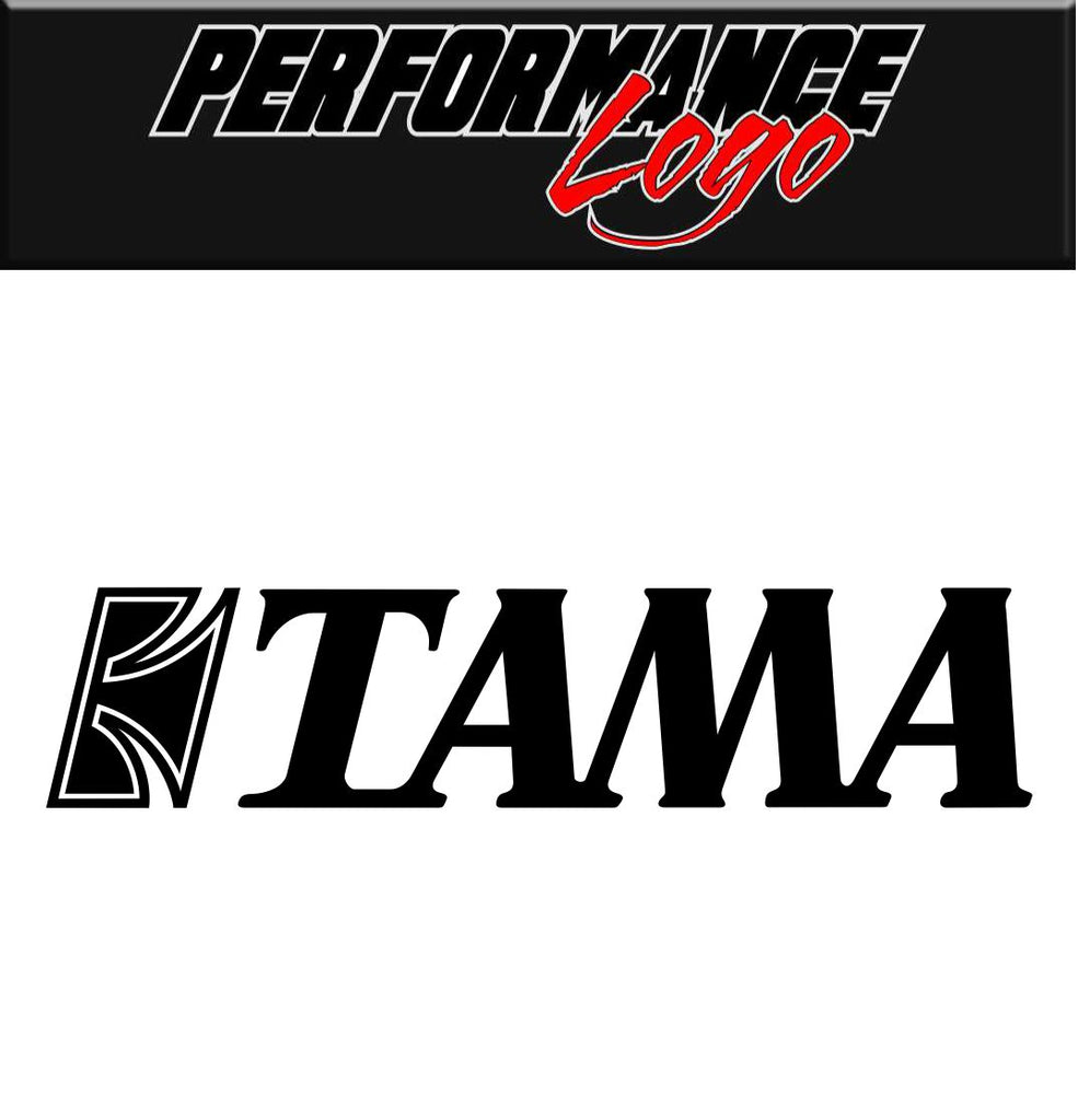 Tama Drums decal, performance decal, sticker