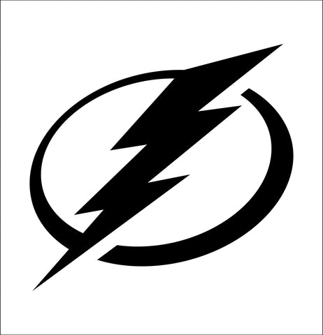 Tampa Bay Lightning decal, sticker, nhl decal