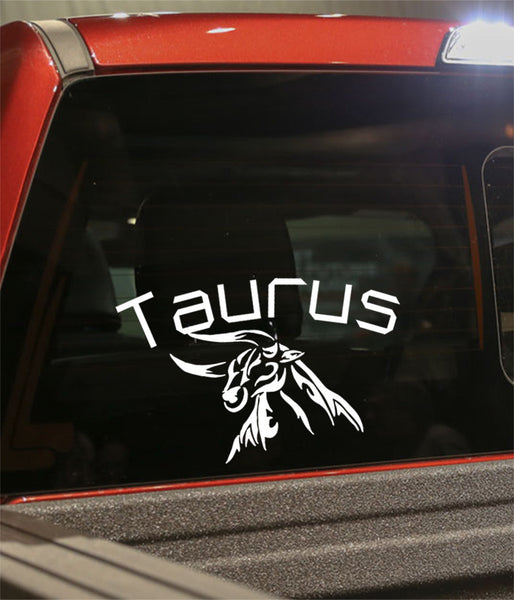 taurus 2 zodiac decal - North 49 Decals