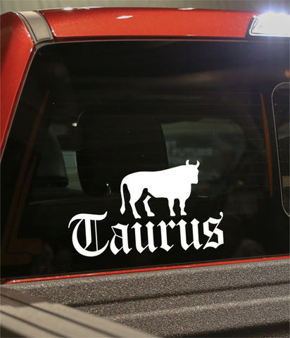 taurus 3 zodiac decal - North 49 Decals