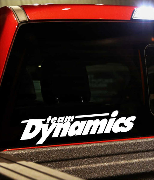 team dynamics decal - North 49 Decals