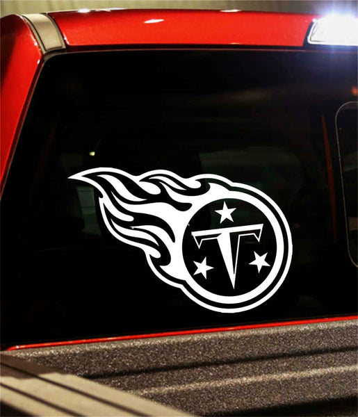 tennessee titans car window decal