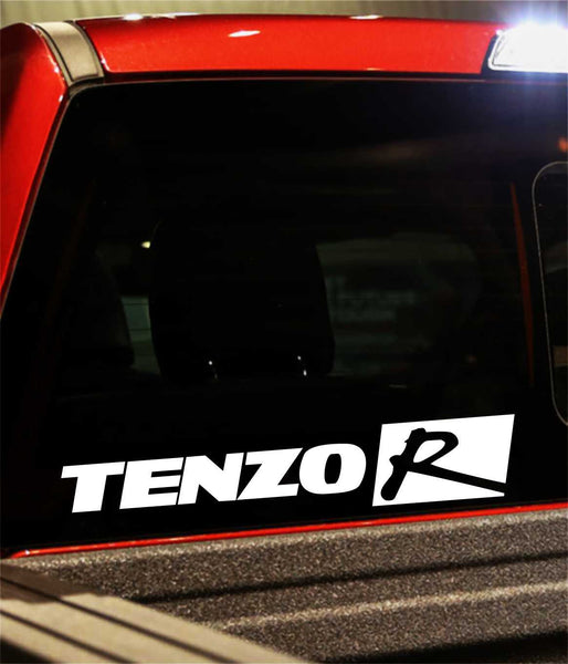 tenzo performance logo decal - North 49 Decals