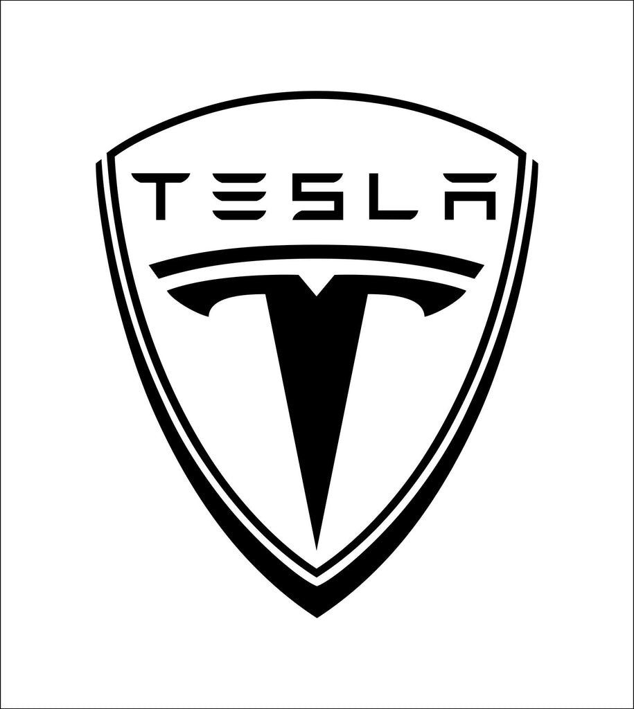 Tesla decal, sticker, car decal