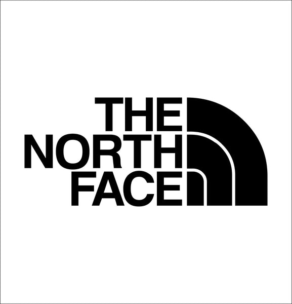 the north face decal, car decal sticker