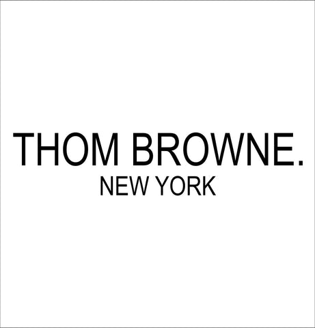 Thom Browne decal, car decal sticker