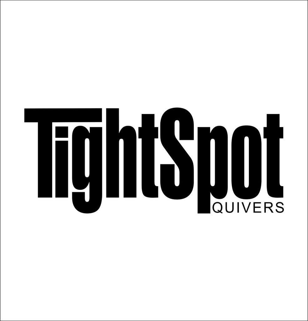 TightSpot Quivers decal, sticker, hunting fishing decal