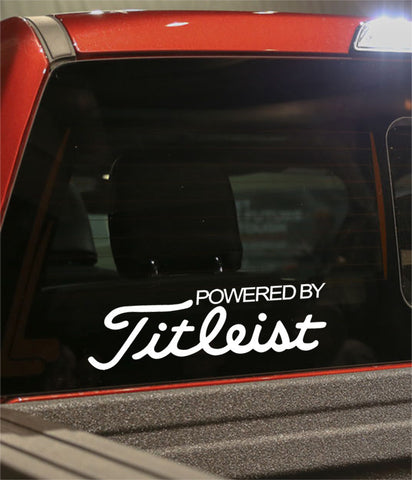powered by titleist golf decal - North 49 Decals