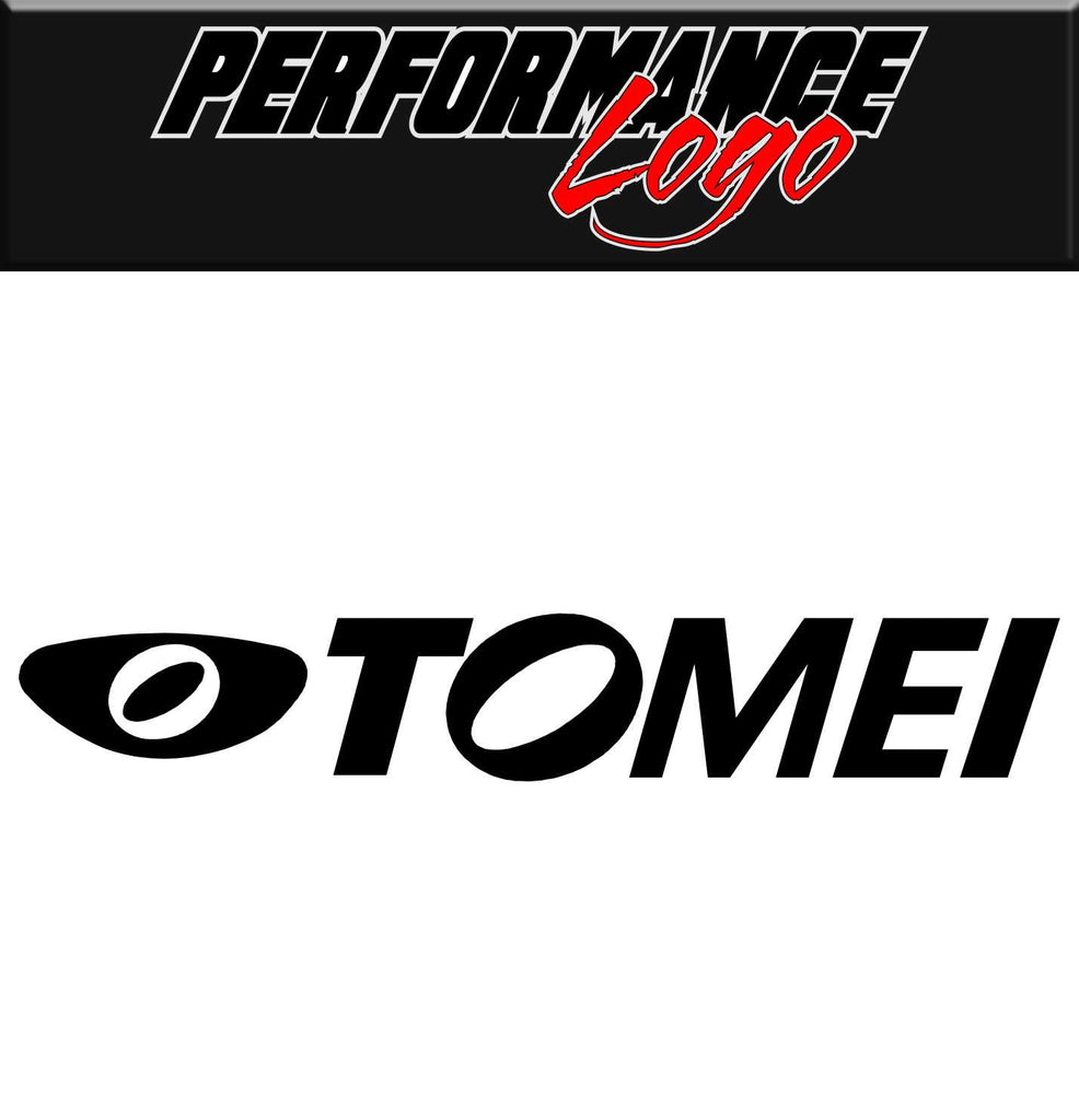 Tomei decal, performance decal, sticker