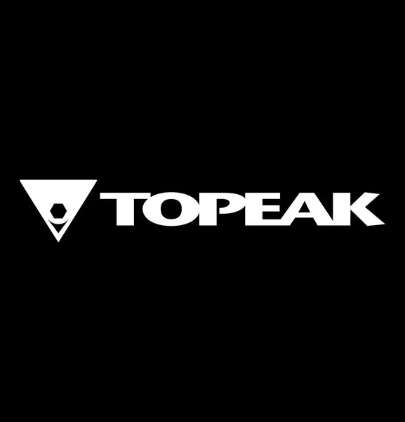 topeak decal, car decal sticker