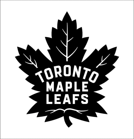 Toronto Maple Leafs decal, sticker, nhl decal