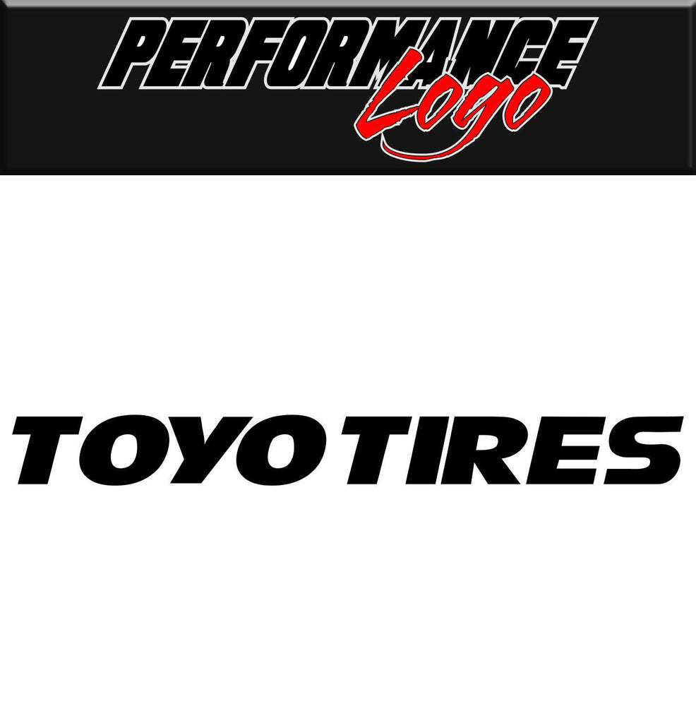 toyo tires performance logo decal north 49 decals rh north49decals com Michelin Logo toyo tires logo png