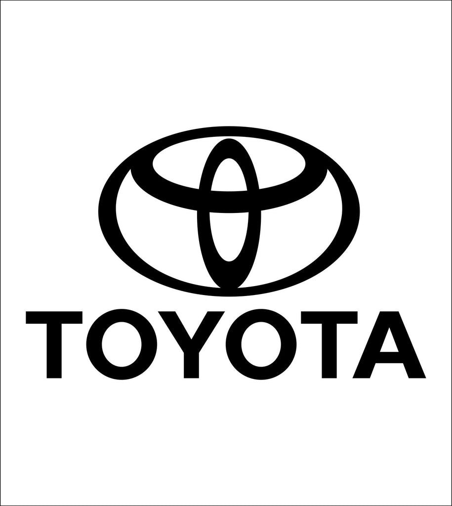 Toyota decal, sticker, car decal