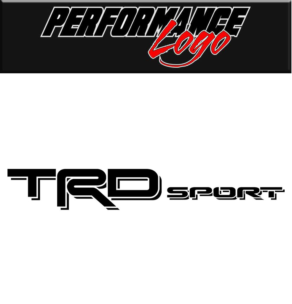 Toyota Racing Development Sport decal, performance decal, sticker