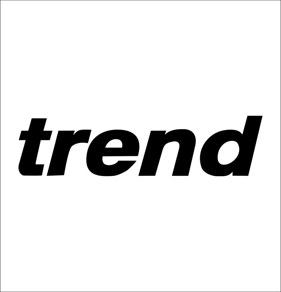 trend tools decal, car decal sticker