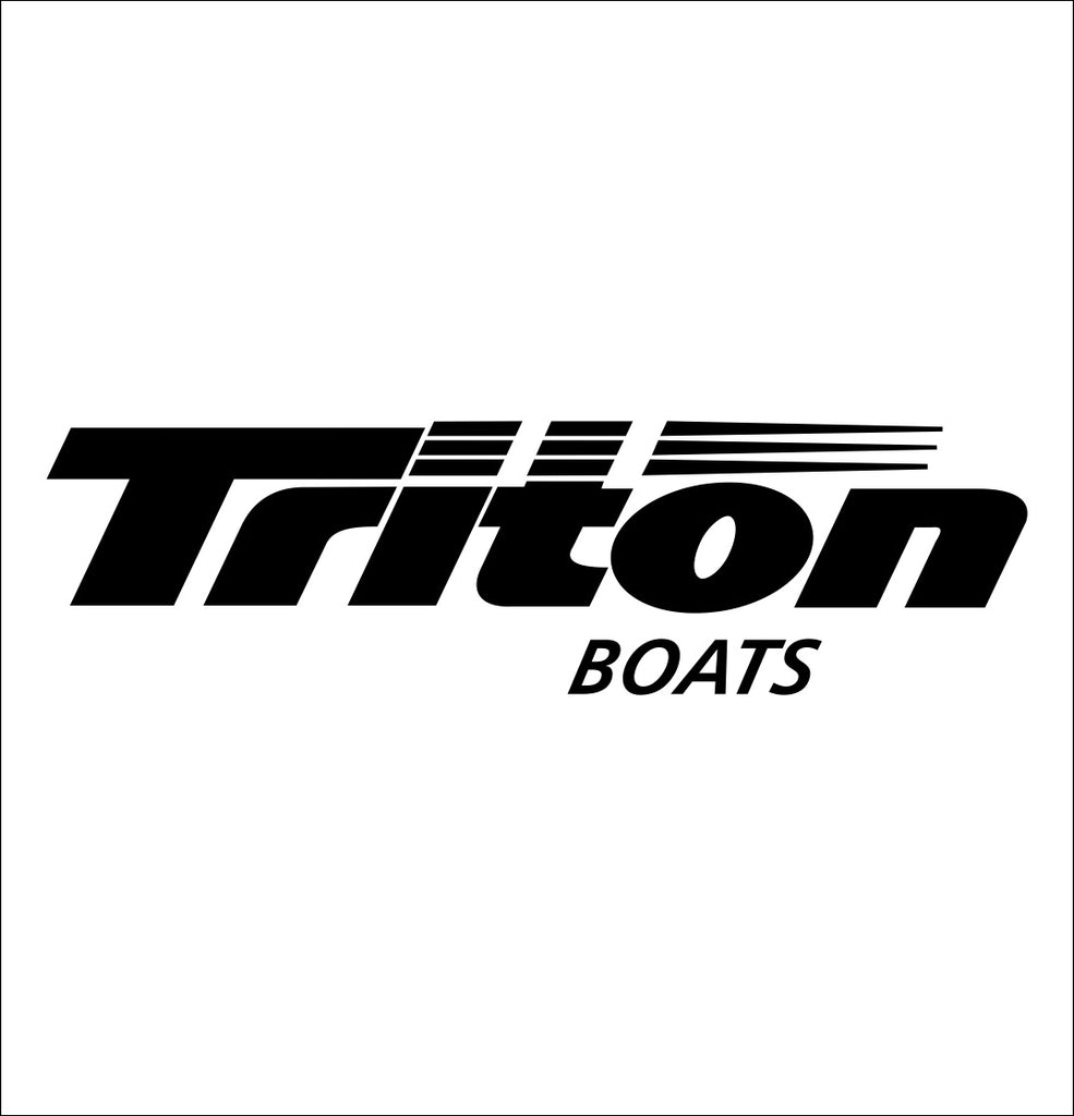 Triton Boats decal, sticker, hunting fishing decal