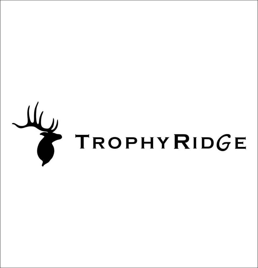 Trophy Ridge decal, sticker, hunting fishing decal
