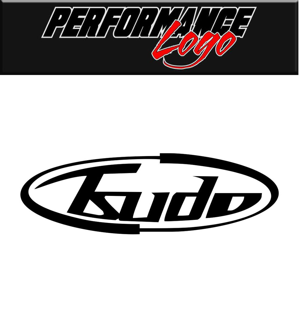 Tsudo Exhaust decal, performance decal, sticker