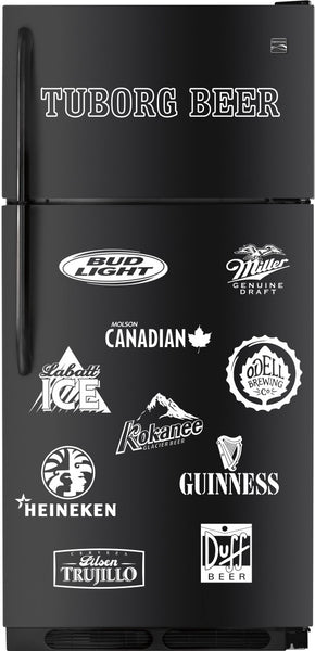 Tuborg Beer decal, beer decal, car decal sticker