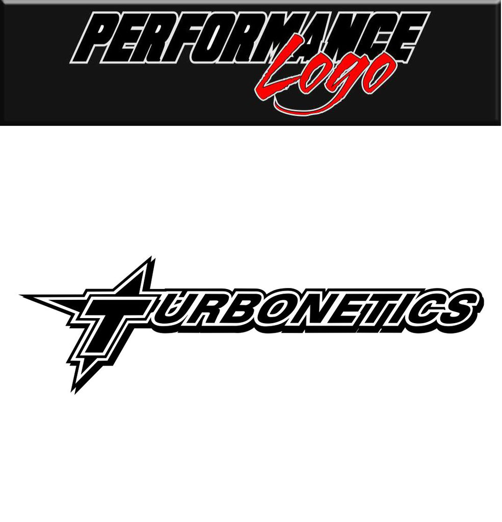 Turbonetics decal, performance decal, sticker