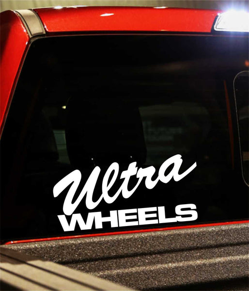 ultra wheels decal - North 49 Decals