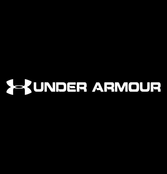 under armour decal, car decal sticker