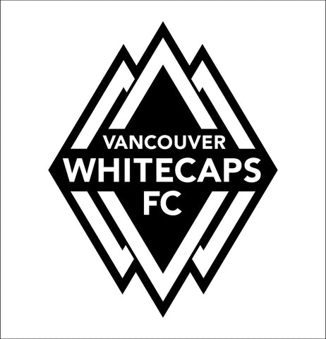 Vancouver Whitecaps decal, car decal, sticker
