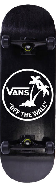 Vans decal, skateboarding decal, car decal sticker