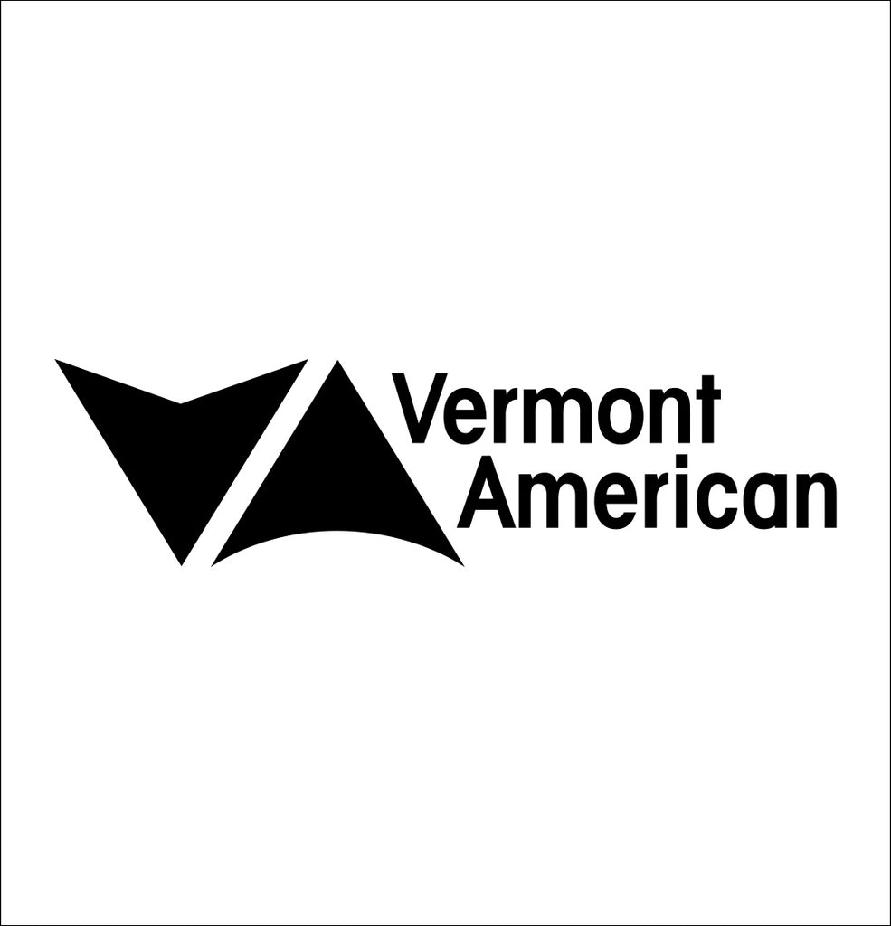 vermont american tools decal, car decal sticker