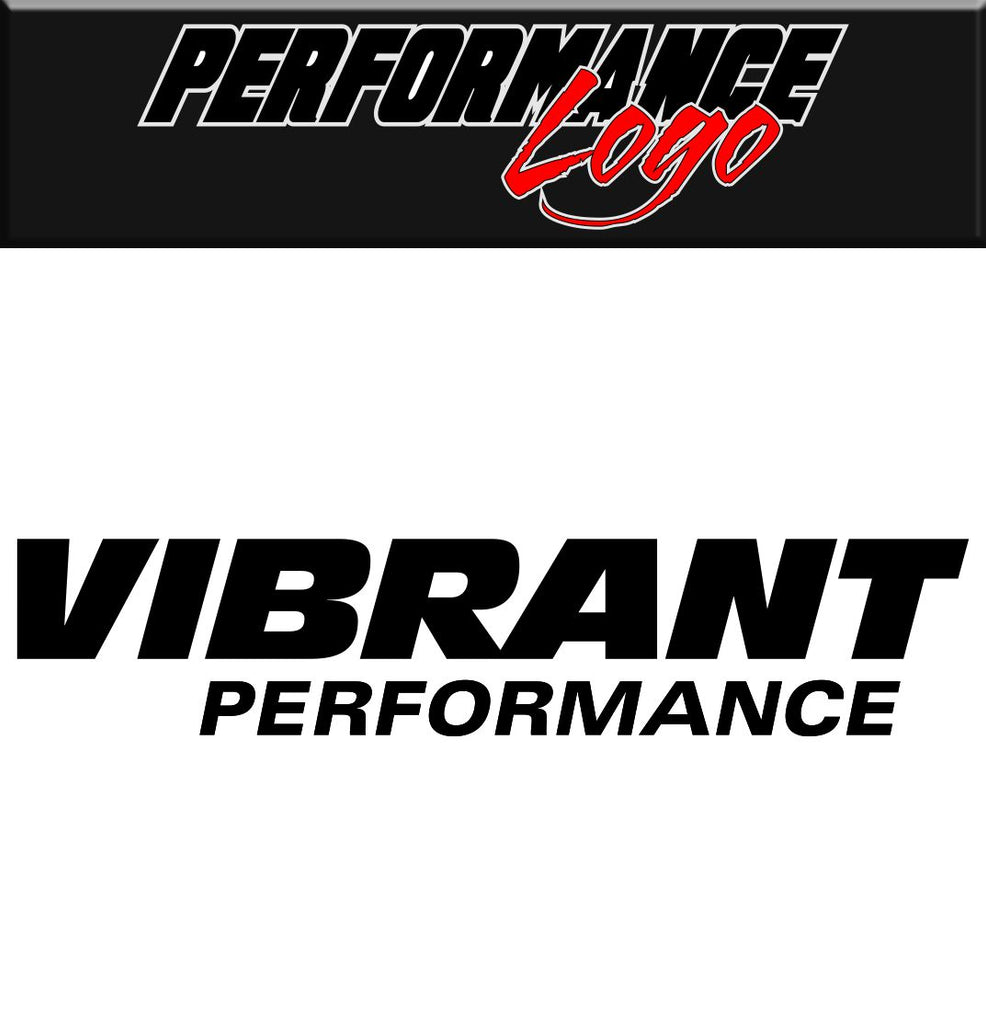 Vibrant decal, performance decal, sticker
