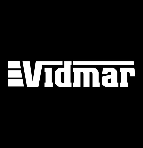 vidmar decal, car decal sticker
