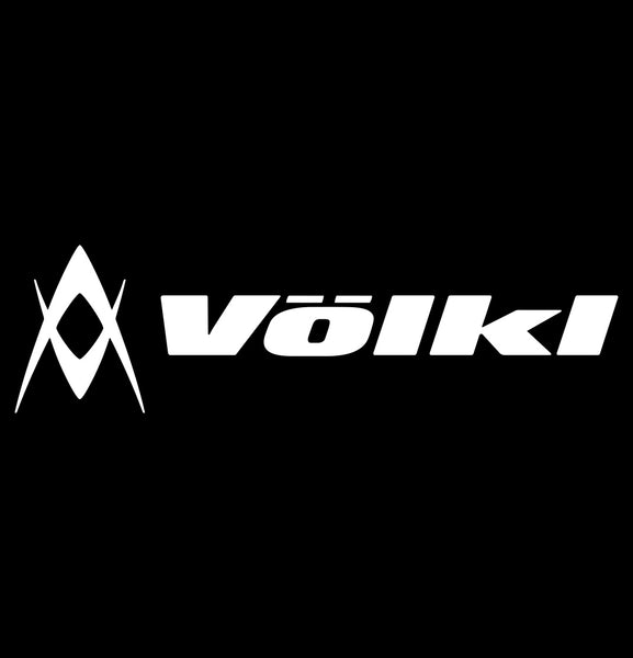 volkl decal, car decal sticker