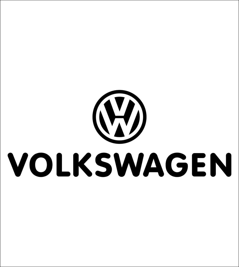Volkswagen decal, sticker, car decal