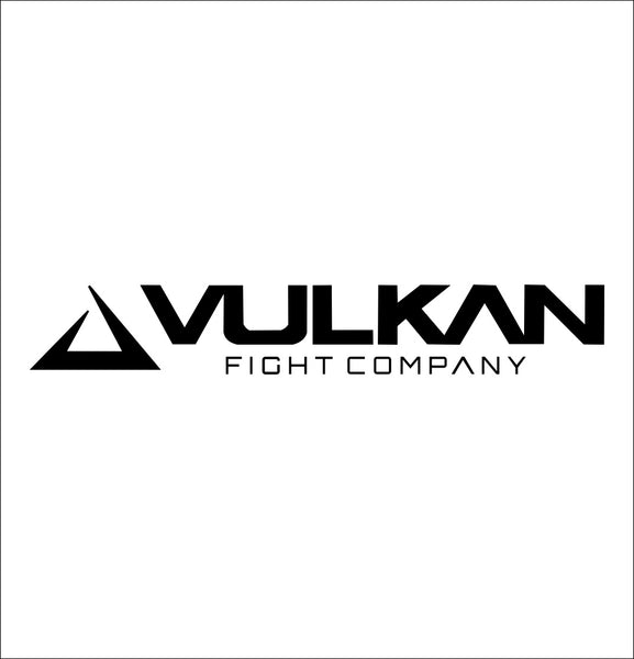 Vulkan Fight Company decal, mma boxing decal, car decal sticker