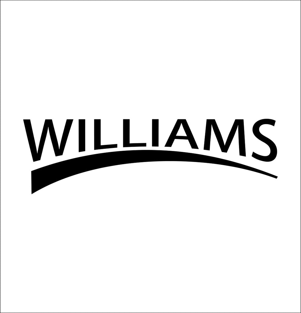 williams tools decal, car decal sticker
