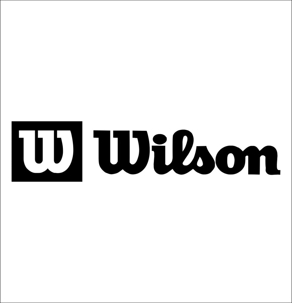 Wilson decal, golf decal, car decal sticker