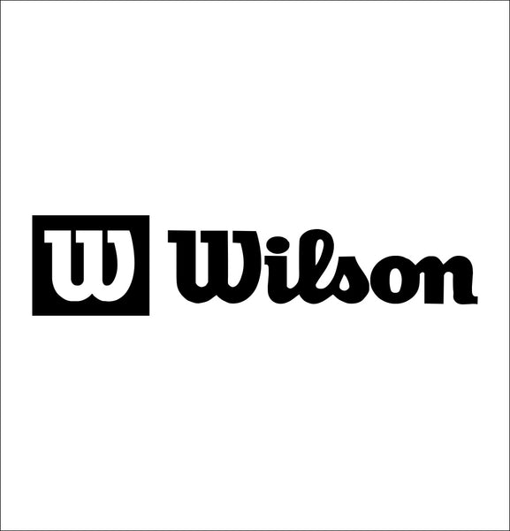 wilson decal, car decal sticker