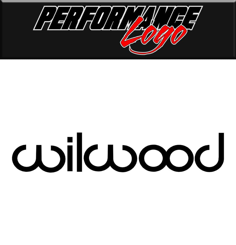 Wilwood decal, performance decal, sticker