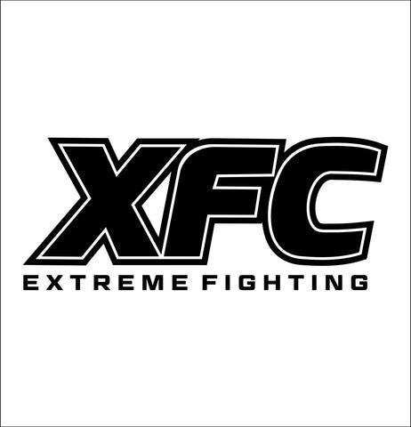 XFC decal, mma boxing decal, car decal sticker