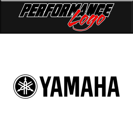 Yamaha decal, performance decal, sticker