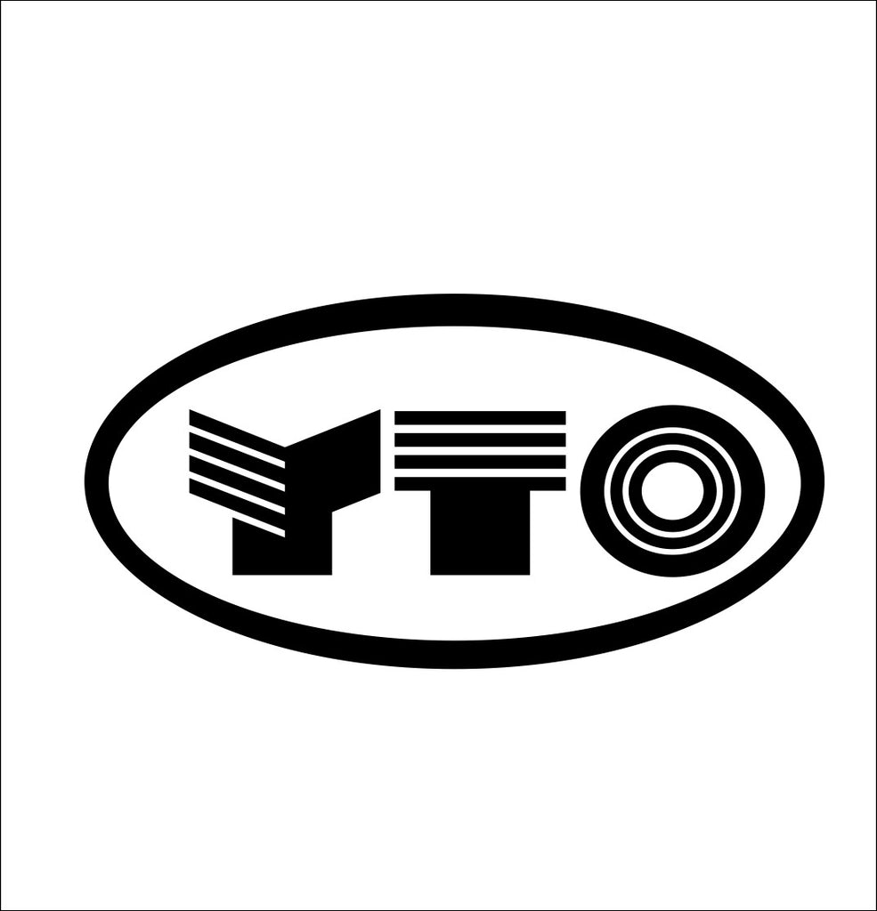 YTO Tractors decal, farm decal, car decal sticker