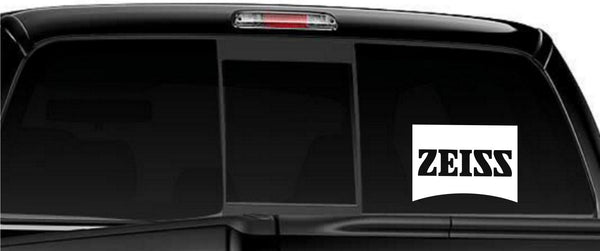 Zeiss Optics decal, sticker, car decal