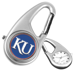 Kansas Jayhawks Carabiner Watch